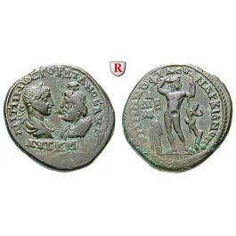 Römische Provinzialprägungen, Thrakien-Donaugebiet, Markianopolis, Gordianus III., Bronze, ss+