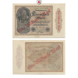 Inflation 1919-1924, 1 Md Mark 15.12.1922, I-, Rb. 110h