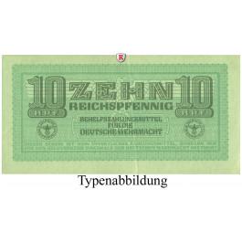 Besatzungsausgaben des 2. Weltkrieges 1939-1945, Behelfzahlmittel der Wehrmacht, 10 Reichspfennig o.D., III, Rb. 503