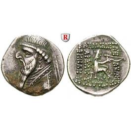 Parthien, Königreich, Mithradates II., Drachme, ss