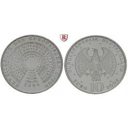Bundesrepublik Deutschland, 10 Euro 2004, EU-Erweiterung, G, bfr., J. 506