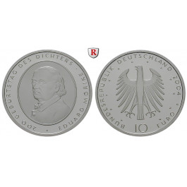 Bundesrepublik Deutschland, 10 Euro 2004, Eduard Mörike, F, bfr., J. 508