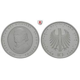 Bundesrepublik Deutschland, 10 Euro 2004, Eduard Mörike, F, PP, J. 508
