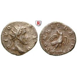 Römische Kaiserzeit, Antoninus Pius, Antoninian 250-251, ss