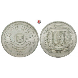 Dominikanische Republik, Peso 1974, vz-st