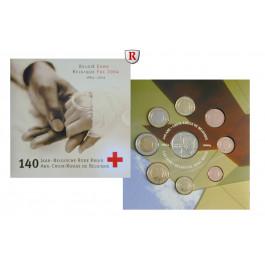 Belgien, Königreich, Albert II., Euro-Kursmünzensatz 2004, st
