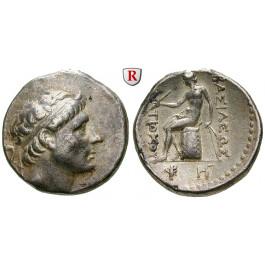 Syrien, Königreich der Seleukiden, Antiochos II., Tetradrachme 261-246 v.Chr., ss/ss+