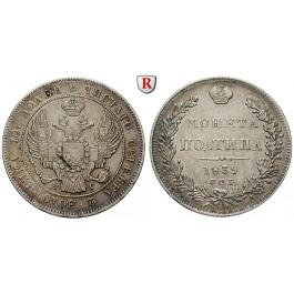 Russland, Nikolaus I., Poltina 1839, f.vz
