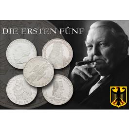 Bundesrepublik Deutschland, 5 DM, vz-st