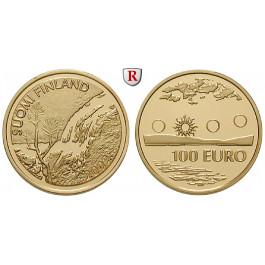 Finnland, Republik, 100 Euro 2002, 7,78 g fein, PP