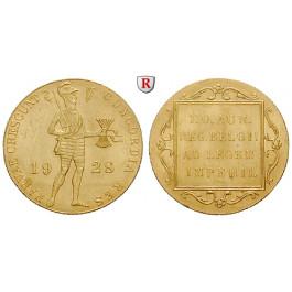 Niederlande, Königreich, Diverse Regenten, Dukat ca. 1920-2000, 3,45 g fein, vz
