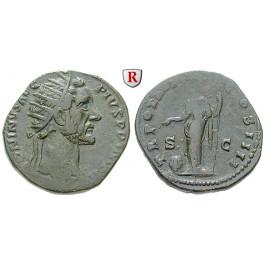 Römische Kaiserzeit, Antoninus Pius, Dupondius 155-156, ss