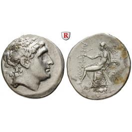 Syrien, Königreich der Seleukiden, Antiochos Hierax, Tetradrachme 261-246 v.Chr., ss+