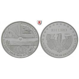 Bundesrepublik Deutschland, 10 Euro 2005, Nationalpark Bayerischer Wald, D, PP, J. 512