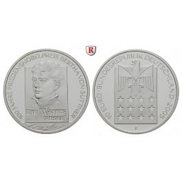 Bundesrepublik Deutschland, 10 Euro 2005, Bertha von Suttner, F, PP, J. 517