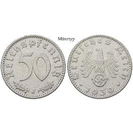 Drittes Reich, 50 Reichspfennig 1942, F, ss, J. 372