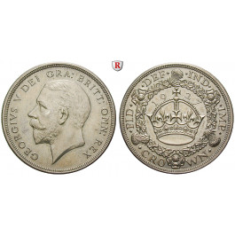 Grossbritannien, George V., Crown 1927, PP