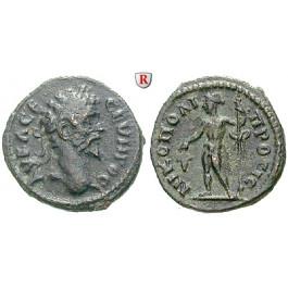 Römische Provinzialprägungen, Thrakien-Donaugebiet, Nikopolis am Istros, Septimius Severus, Assarion, ss-vz