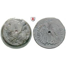 Ägypten, Königreich der Ptolemäer, Ptolemaios VI., Bronze 176-170, ss