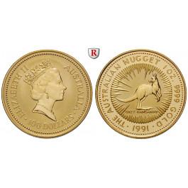 Australien, Elizabeth II., 100 Dollars seit 1986, 31,1 g fein, st
