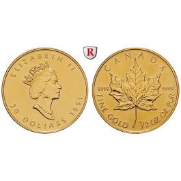 Kanada, Elizabeth II., 20 Dollars seit 1986, 15,55 g fein, st