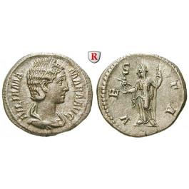 Römische Kaiserzeit, Julia Mamaea, Mutter des Severus Alexander, Denar 226, vz