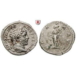 Römische Kaiserzeit, Caracalla, Denar 213, ss-vz