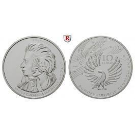 Bundesrepublik Deutschland, 10 Euro 2006, Mozart, D, bfr., J. 518