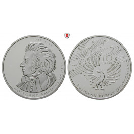 Bundesrepublik Deutschland, 10 Euro 2006, Mozart, D, PP, J. 518