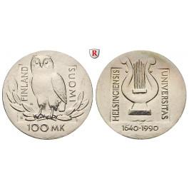 Finnland, Republik, 100 Markkaa 1990, st