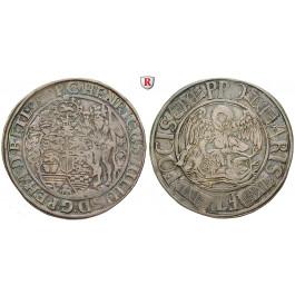 Braunschweig, Braunschweig-Wolfenbüttel, Heinrich Julius, Reichstaler 1599, ss
