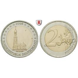 Bundesrepublik Deutschland, 2 Euro 2008, Michel in Hamburg, nach unserer Wahl, bfr., J. 534