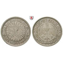 Drittes Reich, 50 Reichspfennig 1938, E, ss-vz, J. 365