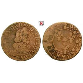 Frankreich, Nevers et Rethel, Charles I. de Gonzague, Double Tournois, s-ss