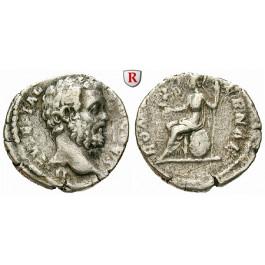 Römische Kaiserzeit, Clodius Albinus, Caesar, Denar 194, f.ss