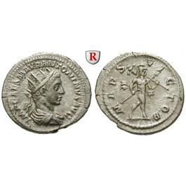 Römische Kaiserzeit, Elagabal, Antoninian 218-219, ss-vz