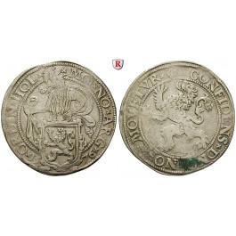 Niederlande, Holland, Löwentaler 1576, ss