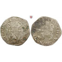 Niederlande, Kampen, Löwentaler 1683, ss+