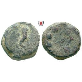 Judaea - Hasmonäer, Mattathias Antigonos, Bronze 40-37 v.Chr., f.ss