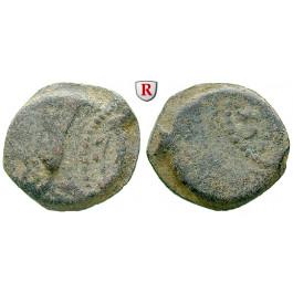 Judaea - Hasmonäer, Mattathias Antigonos, Bronze 40-37 v.Chr., s-ss