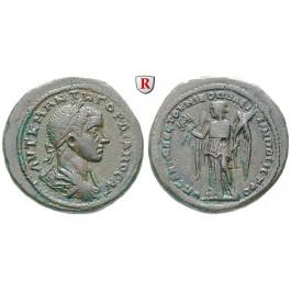 Römische Provinzialprägungen, Thrakien-Donaugebiet, Nikopolis am Istros, Gordianus III., Bronze 238-244, ss