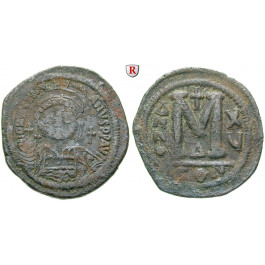Byzanz, Justinian I., Follis 541, f.ss