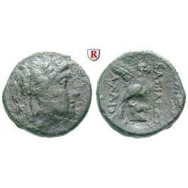 Syrien, Königreich der Seleukiden, Achaios, Bronze 220-215 v.Chr., ss