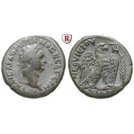 Römische Provinzialprägungen, Seleukis und Pieria, Antiocheia am Orontes, Domitianus, Tetradrachme 89-90, ss