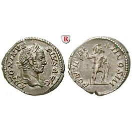 Römische Kaiserzeit, Caracalla, Denar 209, ss