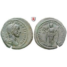 Römische Provinzialprägungen, Thrakien-Donaugebiet, Nikopolis am Istros, Gordianus III., Bronze, ss