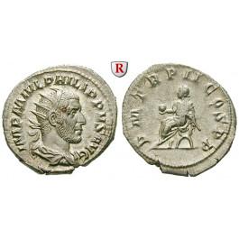 Römische Kaiserzeit, Philippus I., Antoninian 245, vz