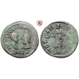 Römische Provinzialprägungen, Thrakien, Mesembria, Philippus II., Caesar, Bronze, ss/ss+