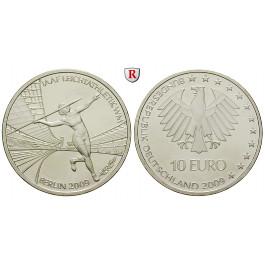 Bundesrepublik Deutschland, 10 Euro 2009, Leichtathletik WM Berlin, nach unserer Wahl, A-J, bfr., J. 542