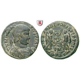 Römische Kaiserzeit, Magnentius, Bronze 350-353, ss